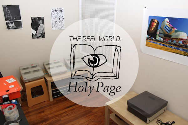 The Reel World_Holy Page
