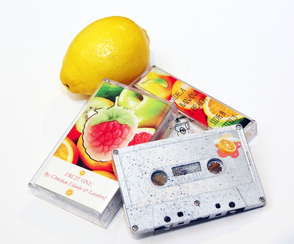 Fruit cassette and artwork