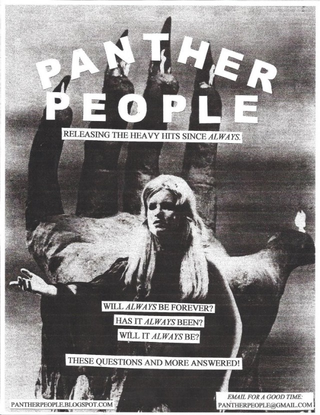 panther people flier