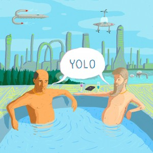 YOLO Illustration by Laurent Hrybyk